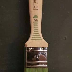 Groene Vernis 40 mm beits kwast  FSC keurmerk