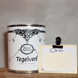 Tegelverf  Orin  wit 500 ml