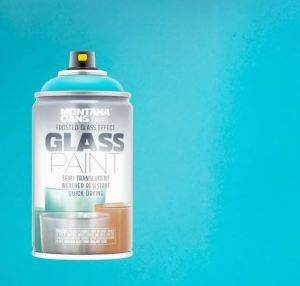 Frosted glass Teal