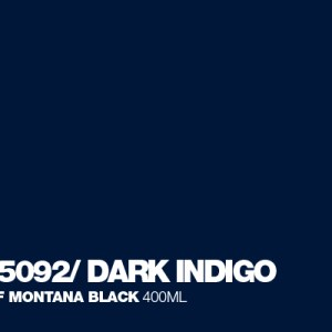 Dark Indigo Montana Black spuitbus 400 ml