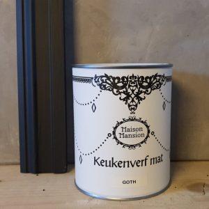Keukenverf Goth 1 liter Maisonmansion