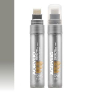 Montana Acrylic Marker Outline Silver 15 mm