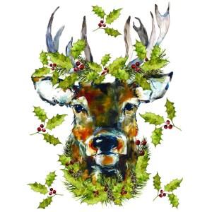 Transfer Woodland Christmas van IOD