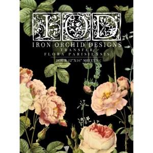 Flora Parisiensis transfer IOD