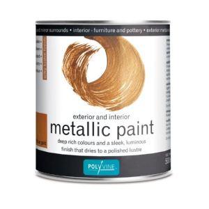 Metallic Antiek Goud Polyvine
