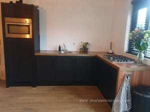 Goth keukenverf zwarte verf MaisonMansion
