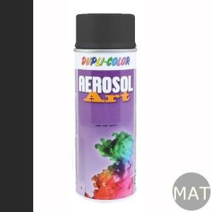 Spuitbus RAL 9017 mat aerosol