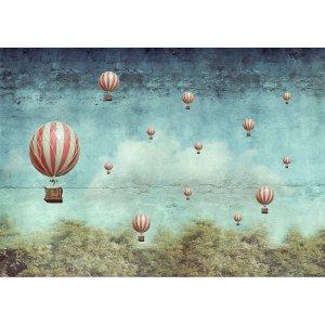 Balloons decoupage