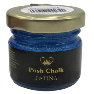 Blue Fhthalo Patina Gilding Wax aqua