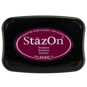 Bordeaux Inkt StaZon
