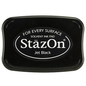 Jet Black Inkt StaZon