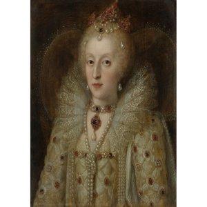 Noble Lady decoupage