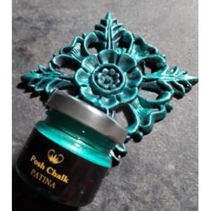 Primary Green Patina Gilding Wax aqua