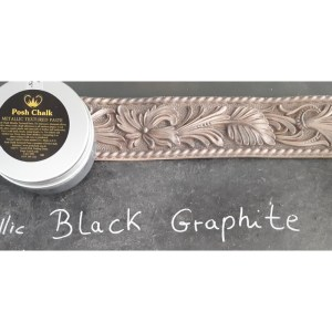 Textured Paste Black Graphite