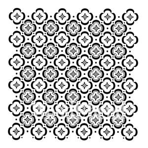 Floor Tile sjabloon 50 x 50 cm