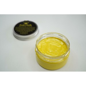 Yellow Canary Smooth Metallic Paste