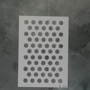Posh to Dot sjabloon 21 x 30 cm