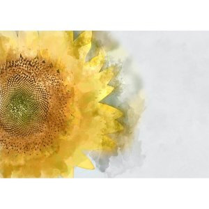 Sunflower decoupage