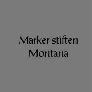 Marker Stiften Montana