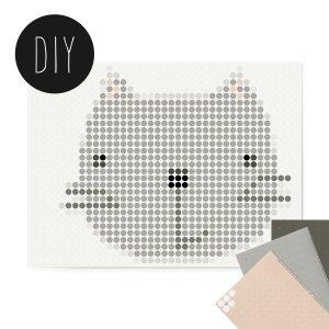 Kitty DIY poster 30 x 40 cm