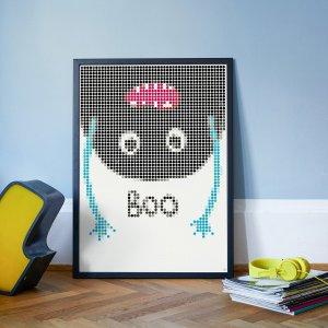 BOO DIY poster 50 x 70 cm