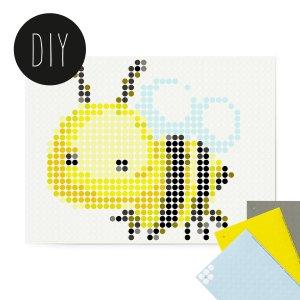 Bee kids DIY poster 30 x 40 cm
