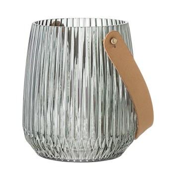 lanterne en verre bloomingville