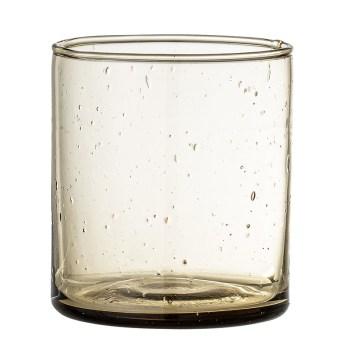 verre en verre soufflé bloomingville