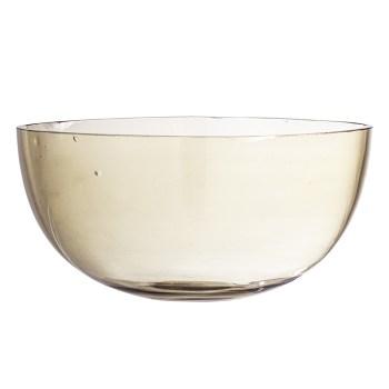 saladier en verre soufflé bloomingville