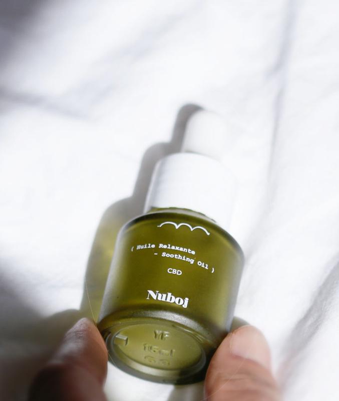 huile relaxante nuboj
