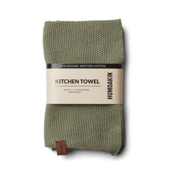 torchon tricoté bio oak humdakin