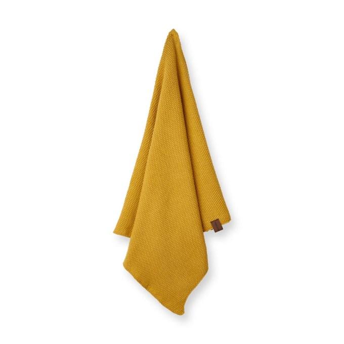 torchon tricoté bio yellow fall humdakin