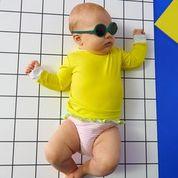 lunette turquoise 0 a 1 ans ki et la