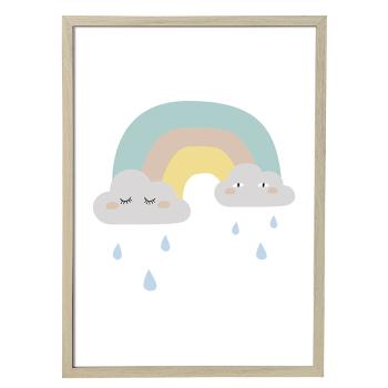 tableau arc en ciel bloomingville mini