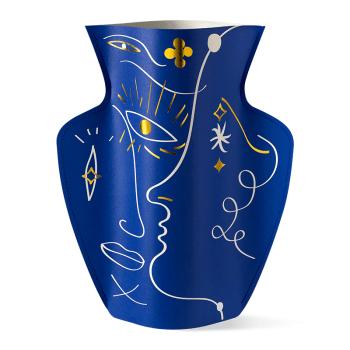 vase en papier jaime hayon bleu octaevo