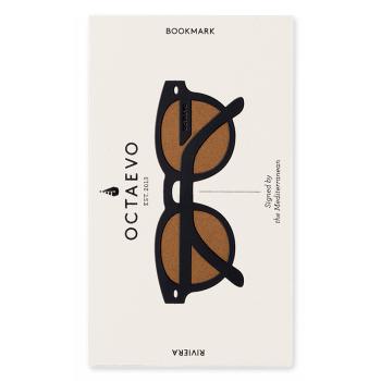 marque page riviera noir octaevo