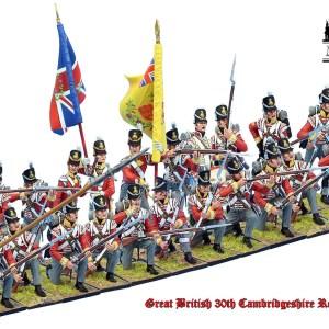 British 30th Regiment of Foot