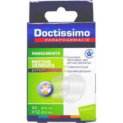 DOCTISSIMO - Patchs pour verrues à L'Acide Salicylique