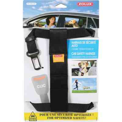 ZOLUX - Harnais de Sécurité Auto pour Chien Taille L