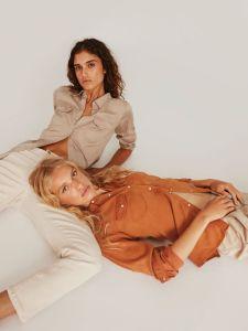 chemise, jean, vila, vila clothes, maison prune