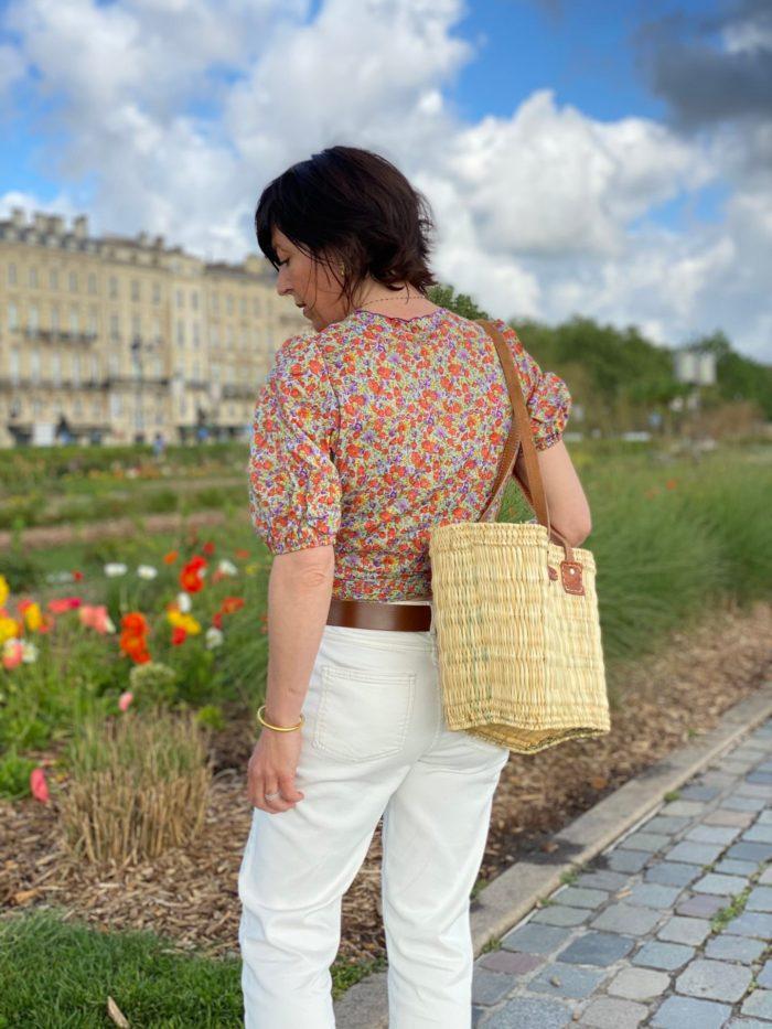 Frnch, Frnch Paris, top frnch paris, cache coeur, top fleuri, maison prune, boutique femme nantes,