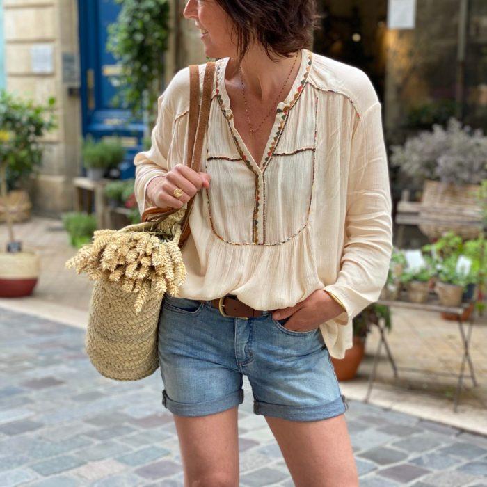 blouse louizon, blouse shaey, louizon paris, marque louizon, maison prune, boutique femme bordeaux, boutique femme nantes, blouses louizon paris, concept store nantes, concept store bordeaux