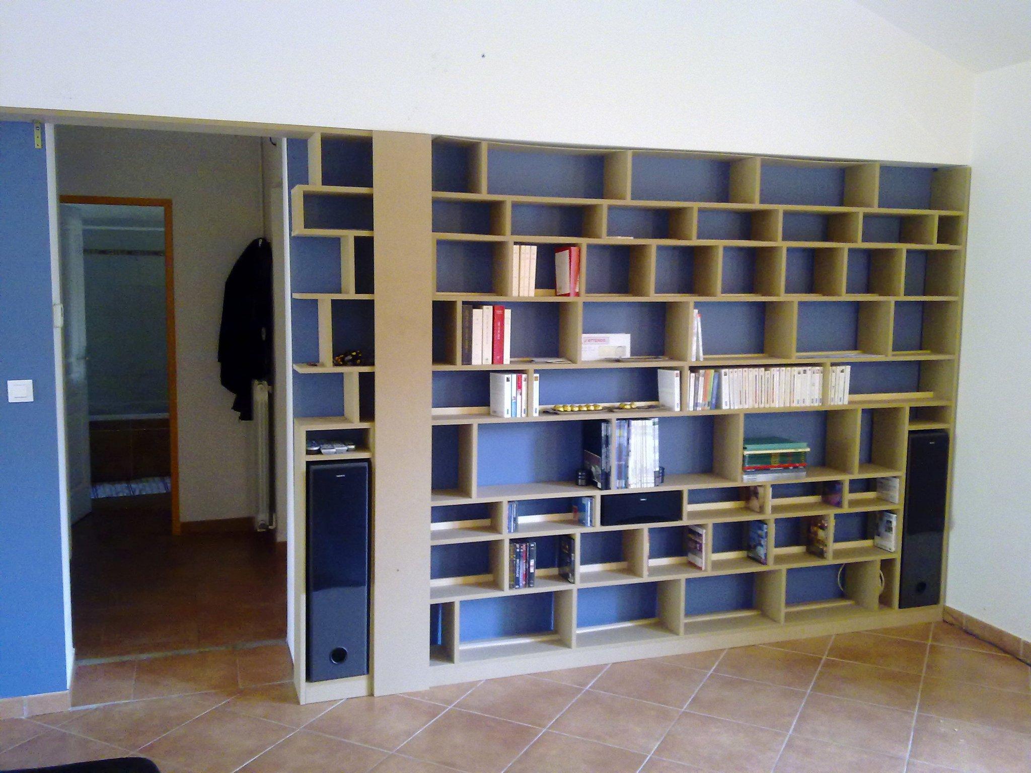 Construire Sa Bibliotheque Sur Mesure Construction De Notre Maison Rt2012