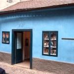 Prague maison de la ruelle d'or - Franz Kafka
