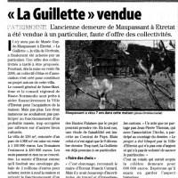 Guy de Maupassant - La Guillette à Etretat