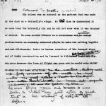 Ernest Hemingway - Manuscrit corrigé
