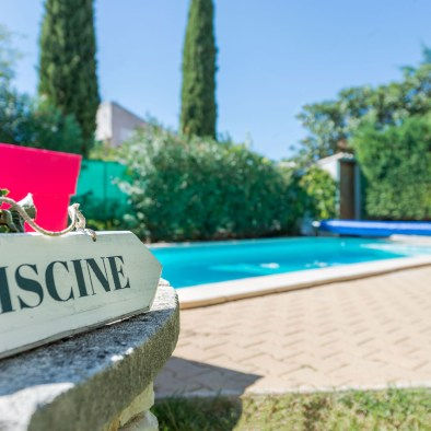 Swimming pool at la maison saint jerome guest house and B&B in Aix en provence