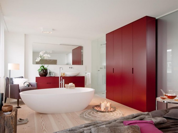 12 Bedrooms Ideas With Bathtubs Or Showers Maison Valentina Blog