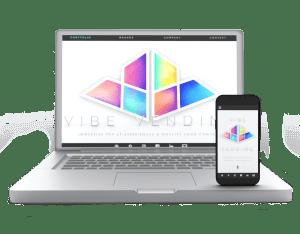 Vibe Vending custom website design by Maison ZOLTS