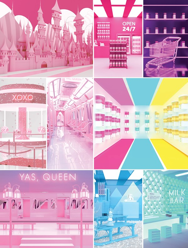 Vibe Vending Proposal for the Sweet Factory Pop-up Exhibition in Toronto